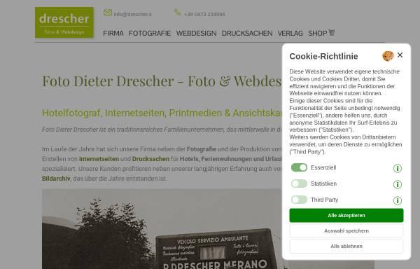 Vorschau von www.drescher.it, Foto Dieter Drescher