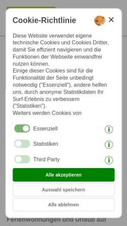 Vorschau der mobilen Webseite www.drescher.it, Foto Dieter Drescher