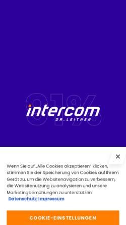 Vorschau der mobilen Webseite www.iceandfun.com, Ice & fun