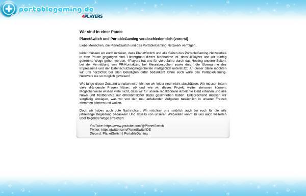 Vorschau von www.planetgameboy.de, PlanetGameboy.de