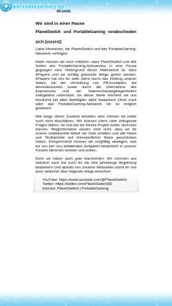 Vorschau der mobilen Webseite www.planetgameboy.de, PlanetGameboy.de