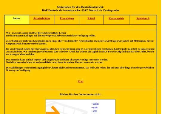Vorschau von www.westfr.de, Materialien für den Deutschunterricht: