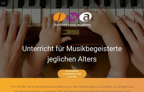 Vorschau von www.frankfurt-musikschule.de, Frankfurt Music Academy