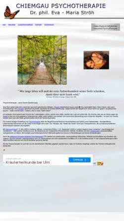 Vorschau der mobilen Webseite www.chiemgau-psychotherapie.de, Chiemgau Psychotherapie