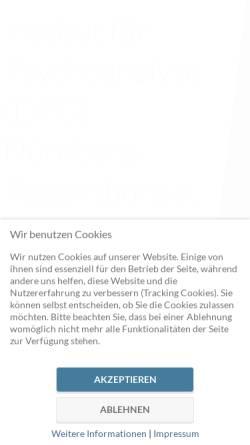 Vorschau der mobilen Webseite www.dpg-nuernberg.com, Institut für Psychoanalyse DPG Nürnberg e.V.