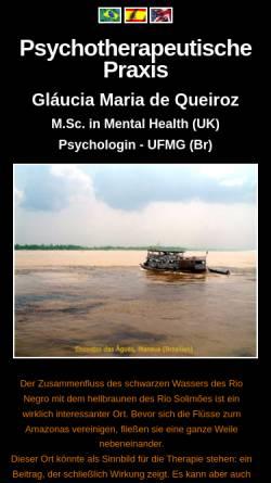 Vorschau der mobilen Webseite www.interkulturelle-psychotherapie.eu, Interkulturelle Psychotherapie