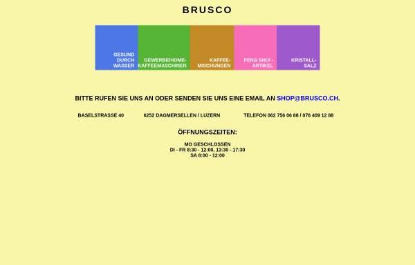 Vorschau von www.brusco.ch, Brusco, Inh. Bruno Schiess
