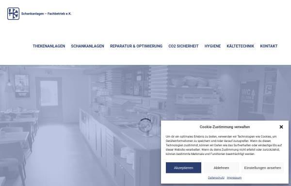 Vorschau von www.schank-technik.de, Erhard Kurowski Schankanlagen-Fachbetrieb
