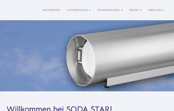 Vorschau von www.sodastar.de, Fest- und Schankanlagen Service Manfred Parchem