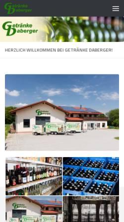 Vorschau der mobilen Webseite www.rent-a-tender.de, Müller & Naveh GbR