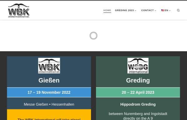Vorschau von www.waffenboersen.com, Internationale Waffen Börsen