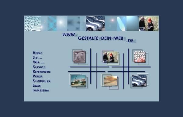 Vorschau von www.gestalte-dein-web.de, Claudia Pfeiffer