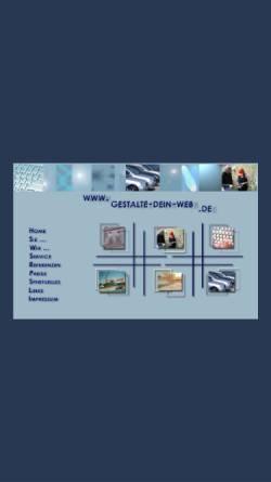 Vorschau der mobilen Webseite www.gestalte-dein-web.de, Claudia Pfeiffer