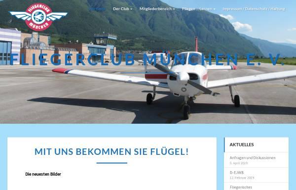 Vorschau von www.fliegerclubmuenchen.de, Flieger Club München