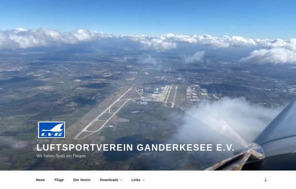 Vorschau von www.lvganderkesee.de, Luftsportverein Ganderkesee