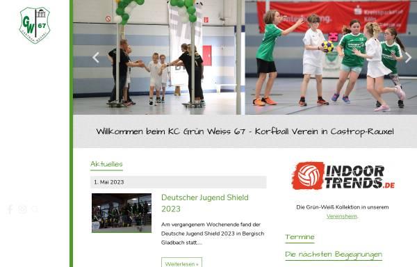 Vorschau von www.kcgruen-weiss.de, KC Grün-Weiß 67 Castrop-Rauxel