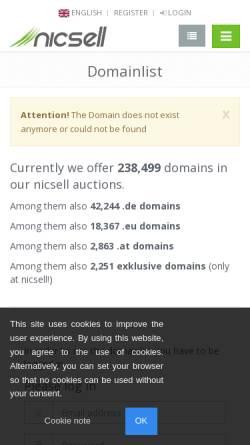 Vorschau der mobilen Webseite www.hvb-bkk.de, Betriebskrankenkasse der HypoVereinsbank (HVB BKK)