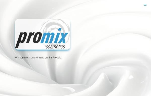 Vorschau von www.promix.de, Promix GmbH Cosmetics