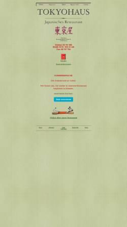 Vorschau der mobilen Webseite www.tokyohaus.de, TeppanYaki