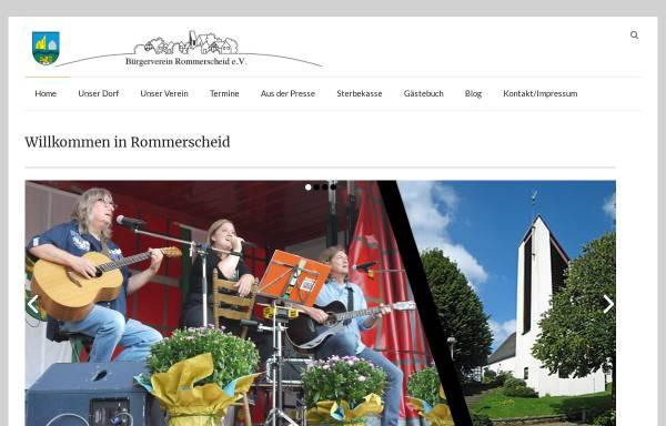 Vorschau von www.rommerscheid.de, Rommerscheid