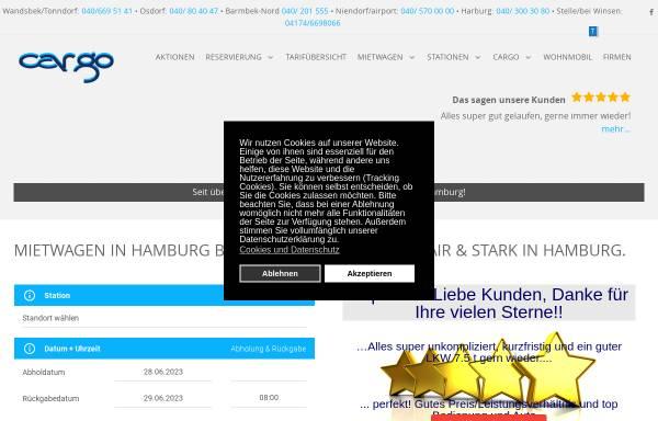 Vorschau von www.cargo-autovermietung.de, CarGo Autovermietung GmbH