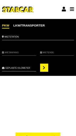 Vorschau der mobilen Webseite www.profirent.de, Profi Rent GmbH