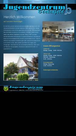 Vorschau der mobilen Webseite www.juzebirkenfeld.de, Jugendzentrum Birkenfeld