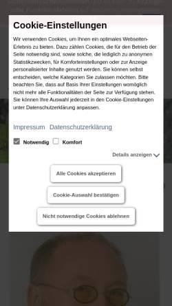 Vorschau der mobilen Webseite www.gutachter-vollmer.de, Vollmer, Sachverständiger und Gutachter