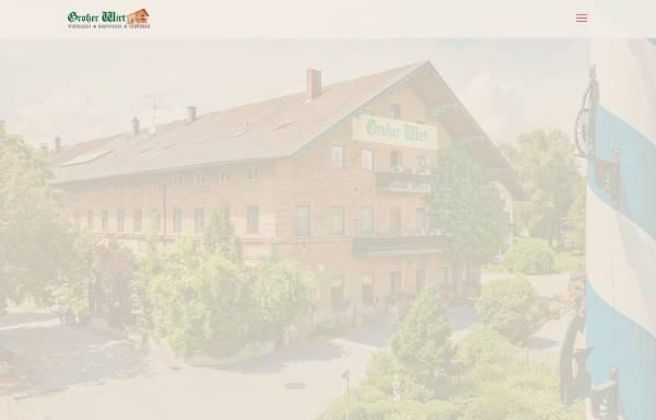 Vorschau von www.gasthof-grosser-wirt.de, Gasthof Großer Wirt