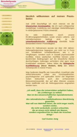Vorschau der mobilen Webseite www.homeo-med.de, Praxis für Klassische Homöopathie - Stefan Möller
