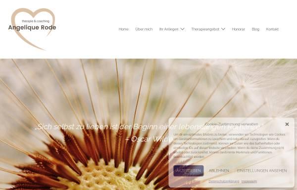 Vorschau von www.auf-den-wellen.de, Wellness und Gesundheit - Angelique Rode