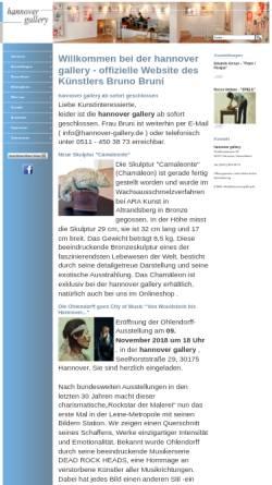 Vorschau der mobilen Webseite brunobruni-kunstausstellung-hannover.de, Bruni, Bruno