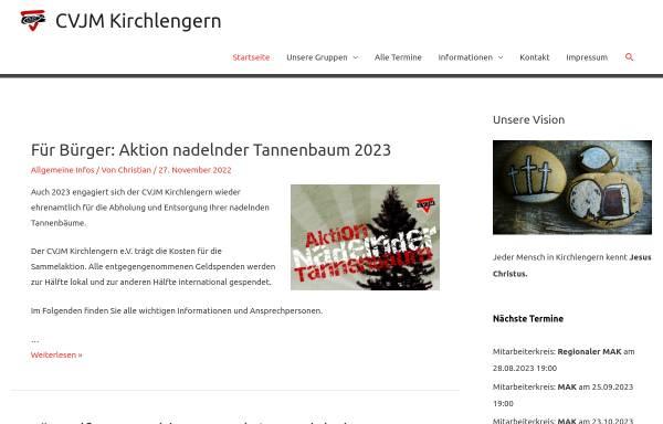 Vorschau von www.cvjm-kirchlengern.de, CVJM Kirchlengern