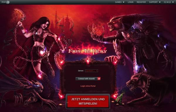 Vorschau von www.monstersgame.de, MonstersGame