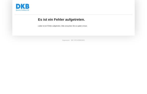Vorschau von www.dkb.de, Deutsche Kreditbank AG