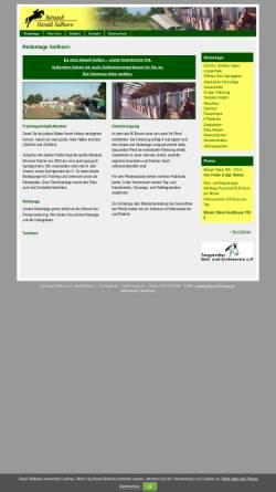 Vorschau der mobilen Webseite www.reitanlage-sellhorn.de, Reitanlage Sellhorn