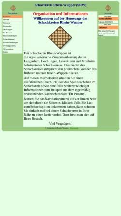 Vorschau der mobilen Webseite www.schachkreis-rhein-wupper.de, Schachkreis Rhein-Wupper