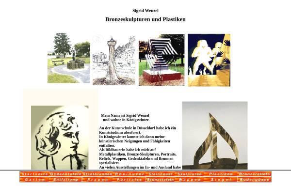 Vorschau von www.sigridwenzel.de, Wenzel, Sigrid