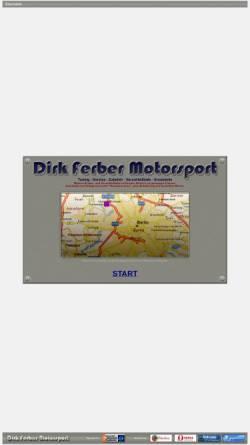 Vorschau der mobilen Webseite www.fermosport.de, Dirk Ferber Motorsport