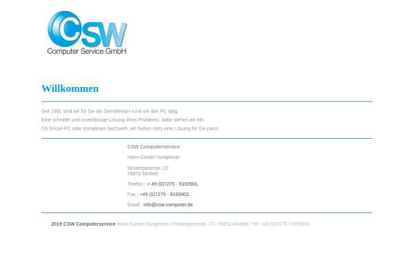 Vorschau von www.csw-computer.de, Computer Service GmbH