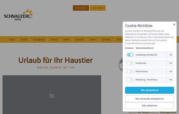Vorschau von www.schnauzerl.at, Schnauzerl Hotel