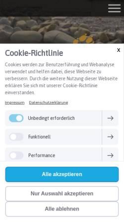 Vorschau der mobilen Webseite www.schnauzerl.at, Schnauzerl Hotel