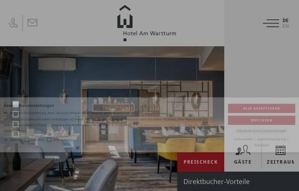 Vorschau von www.hotel-amwartturm.de, Hotel Am Wartturm