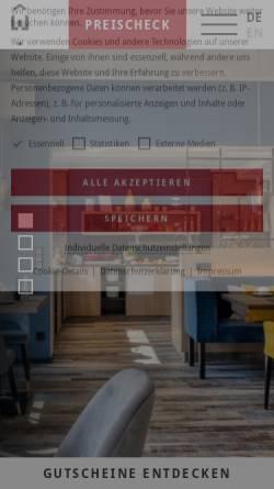 Vorschau der mobilen Webseite www.hotel-amwartturm.de, Hotel Am Wartturm