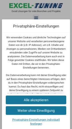 Vorschau der mobilen Webseite www.lajuco.de, Jungclaus Consulting, Inh.Lars Jungclaus