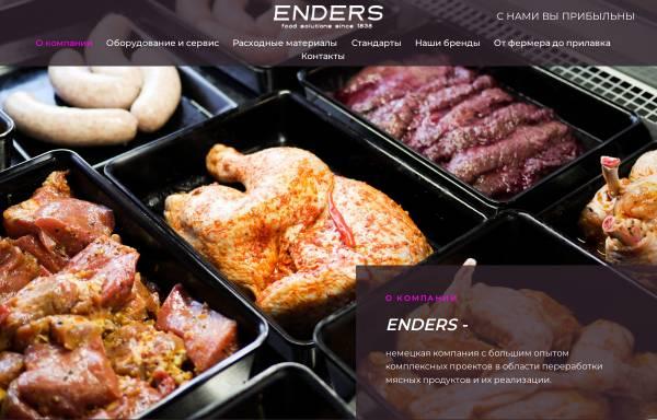 Vorschau von www.enders.de, Enders GmbH & Co.KG