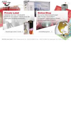 Vorschau der mobilen Webseite www.adv-pax.de, ADV Pax Lutec GmbH