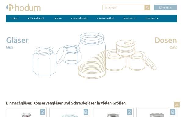 Vorschau von www.hodum.com, Hodum GmbH