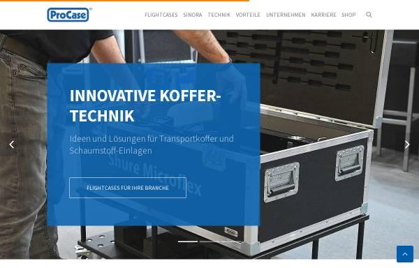 Vorschau von www.procase.de, LTB GmbH - ProCase