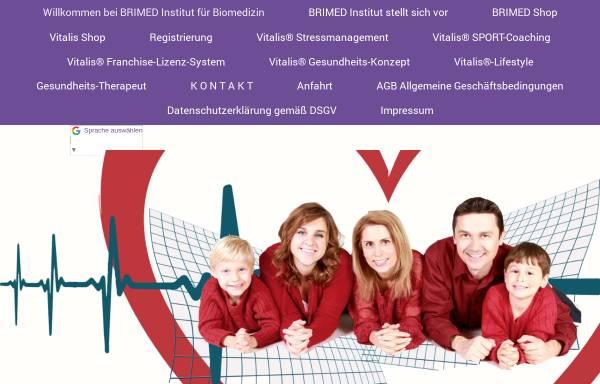 Vorschau von www.brimed.de, Brimed Institut für Biomedizin